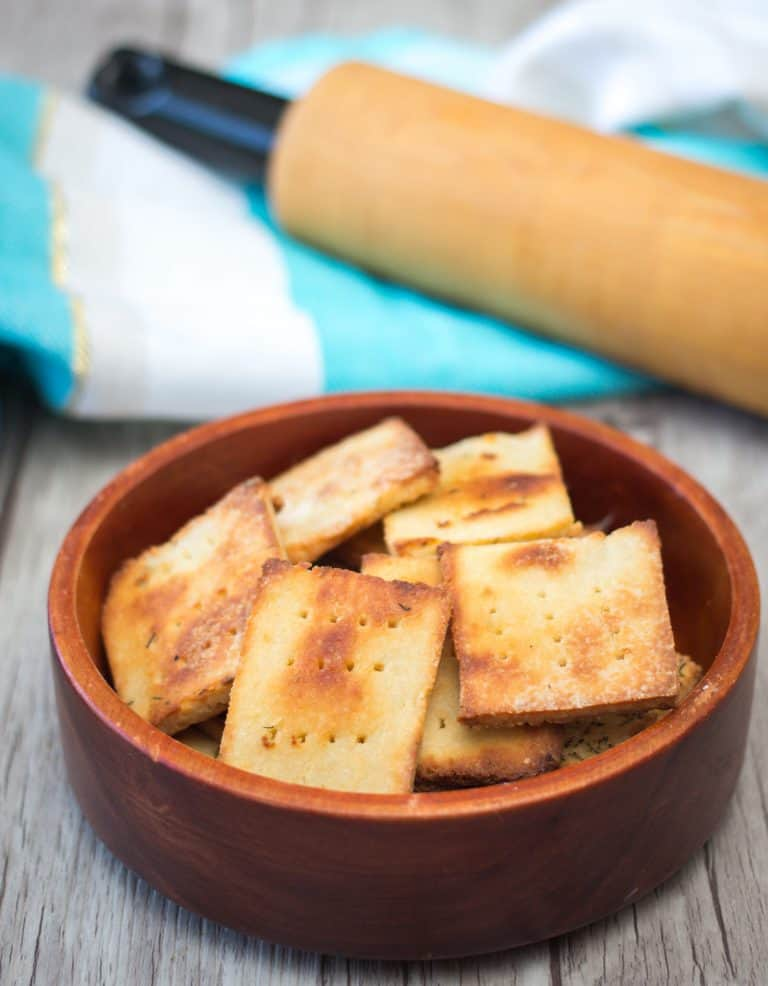 low carb fat head crackers