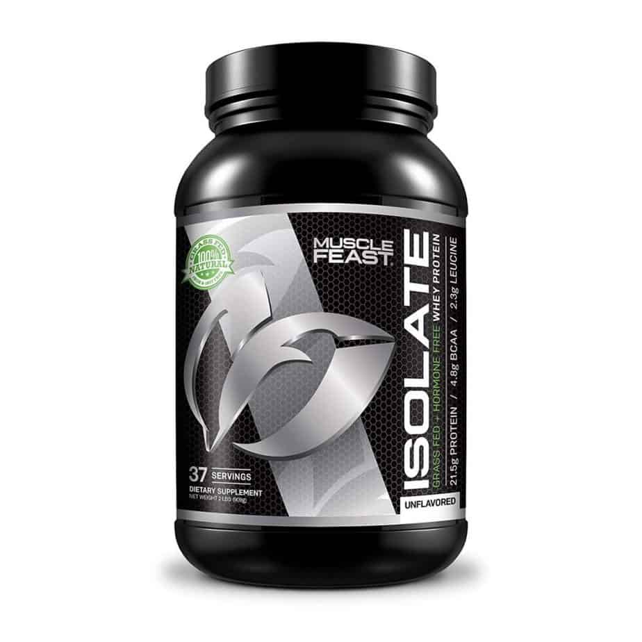 Grass Fed Whey Protein Isolate by Muscle Feast