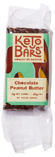 keto bars chocolate peanut butter