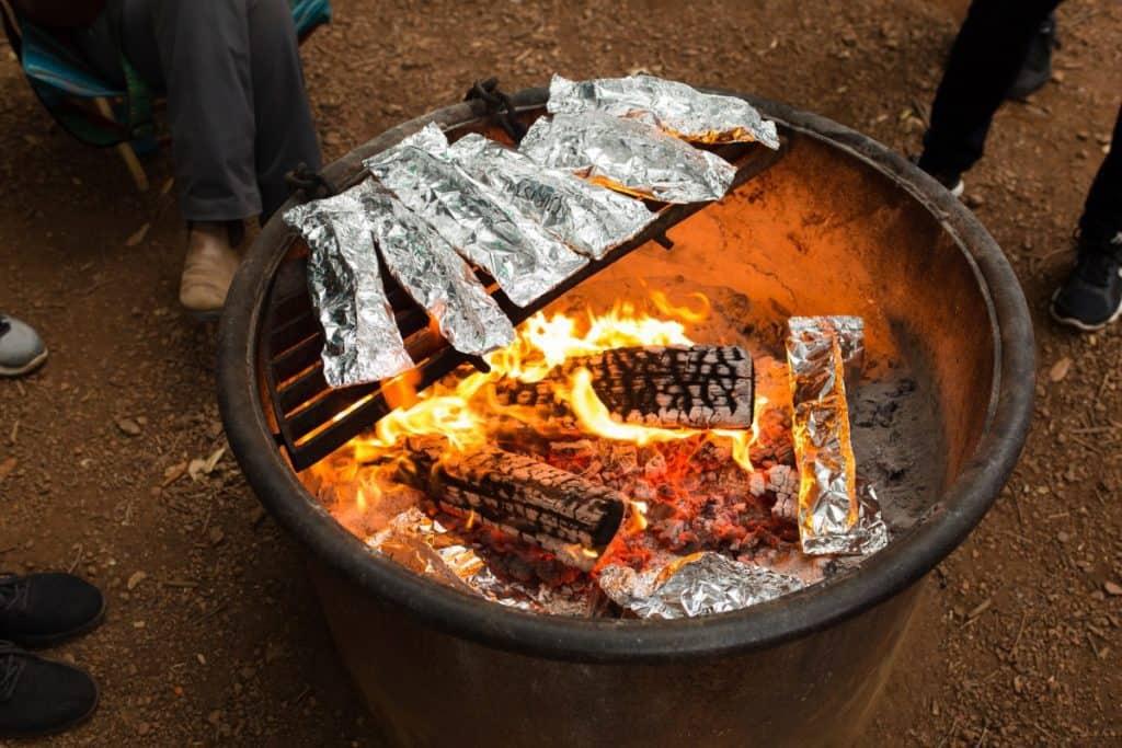 keto camping meals